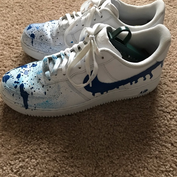 Nike Shoes - Nike Air Force 1 customized size 10